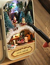 Недорогие -Кукольный домик Творчество Новогодняя тематика Романтика 1pcs Куски Все Подарок