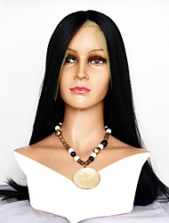 cheap -Human Hair Lace Front Wig Wig Indian Hair Straight 130% Density Comfortable Natural Long Human Hair Lace Wig