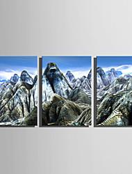 preiswerte -Druck Aufgespannte Leinwandrucke - Landschaft Natur & Outdoor Modern