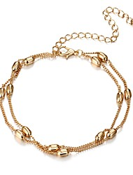 cheap -Women's Layered Chain Bracelet - Gothic Bracelet Gold / Silver For Daily