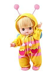 abordables -Muñeca de moda Bebés Niñas 10 pulgada Silicona - natural Kid de Unisex Regalo