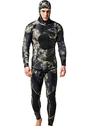 cheap -MYLEDI Men's Full Wetsuit 3mm SCR Neoprene Diving Suit Thermal / Warm Long Sleeve - Swimming / Diving Classic Spring / Summer / Fall