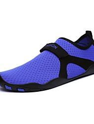 Недорогие -Муж. Тюль Лето Удобная обувь Спортивная обувь Для фитнеса / Для плавания Белый / Черный / Лиловый