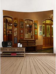 baratos -Tema Jardim Decoração de Parede Poliéster Moderna Modern Arte de Parede, Tapetes de parede Decoração