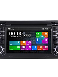 abordables -7inch 2 Din HD 1080P Windows CE 6.0 Coches reproductor de DVD para Audi Bluetooth Integrado / GPS / RDS - DVD-R / RW / CD-R / RW / VCD
