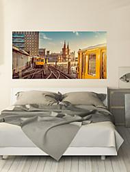 abordables -Autocollants muraux décoratifs - Autocollants muraux 3D Paysage / Forme Salle de séjour / Chambre à coucher