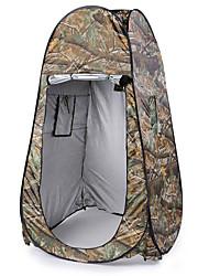abordables -1 Persona Tienda con pantalla protectora / Tiendas de ducha Doble Capa Automático Domótica Carpa para camping Al aire libre Resistente a la lluvia, Resistente al Viento para Pesca / Playa / Camping