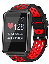 cheap -Smartwatch STF8 for Android 4.3 and above / iOS 7 and above Touch Screen / Heart Rate Monitor / Water Resistant / Water Proof Pedometer /