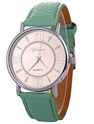 baratos -Mulheres Relógio Elegante Chinês Cronógrafo / Criativo PU Banda Fashion Preta / Vermelho
