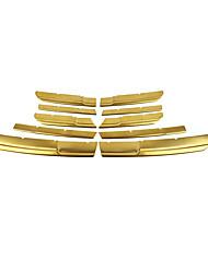 Недорогие -10 шт. Автомобиль Отделка передней решетки автомобиля Деловые Тип пасты для Верхняя часть передней решетки Назначение Nissan 2016