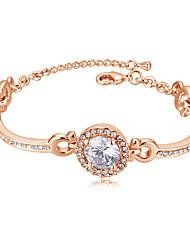 preiswerte -Armband - Süß, Modisch, Elegant Armbänder Gold / Silber / Rotgold Für Hochzeit / Party
