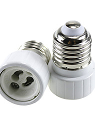 abordables -2pcs E27 à GU10 GU10 Accessoire d'ampoule / Adaptateur Prise de lumière Aluminium / Céramique