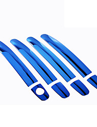 cheap -4pcs Car Door Handles Business Paste Type For Car Door For universal All Models All years