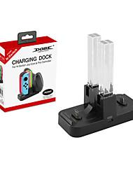 Недорогие -DOBE TNS-1756 Зарядное устройство / Воротник-стойка Назначение Nintendo Переключатель,ABS Зарядное устройство / Воротник-стойка Новый