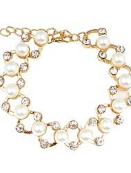 cheap -Women's Chain Bracelet / Bracelet - Imitation Pearl Bracelet Gold For Wedding / Office & Career