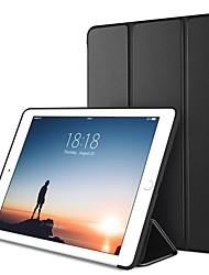 Недорогие -Кейс для Назначение Apple iPad Mini 5 / iPad New Air (2019) / iPad Air со стендом / Оригами / Магнитный Чехол Однотонный Твердый Кожа PU / iPad Pro 10.5 / iPad (2017)