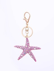 cheap -Keychain Jewelry White / Light Blue / Light Pink Starfish Alloy Casual / Fashion Gift / Daily