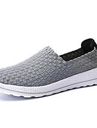 billige -Herre Sko Net / Tyl Sommer Komfort / Lysende såler Sneakers Sort / Mørkeblå / Grå