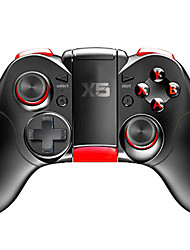cheap -X5 Wireless Game Controllers For Android / PC / iOS, Bluetooth Portable Game Controllers ABS 1 pcs unit