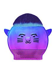 Недорогие -1 ед. Кисти для макияжа профессиональный Наборы кистей Нейлоновое волокно Экологичные / Мягкость Пластик