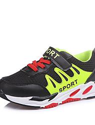 abordables -Garçon Chaussures Polyuréthane Printemps été Confort Chaussures d'Athlétisme Scotch Magique pour Noir / Fuchsia / Bleu