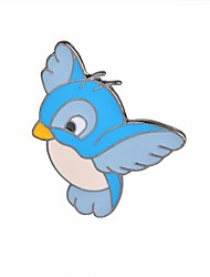 Недорогие -Броши Птица Фламинго Дамы Винтаж Мультяшная тематика Мода Брошь Бижутерия Светло-синий Назначение Повседневные Для вечеринок