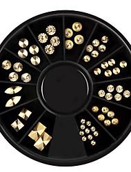 abordables -1 pcs Bijoux à ongles Punk Luxe Usage quotidien Nail Art Design / Nail Art Forms