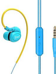 abordables -DM100 EARBUD Câblé Ecouteurs Dynamique Cuivre Téléphone portable Écouteur LA CHAÎNE HI-FI / Avec Microphone Casque