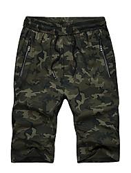 cheap -Men's Basic Shorts Pants - Camouflage