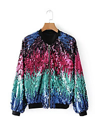 cheap -Women's Cute Jacket - Multi Color
