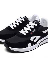 povoljno -Muškarci Cipele Til / PU Jesen Udobne cipele Atletičarke tenisice Trčanje Crn / Sive boje / Crvena / Trčanje