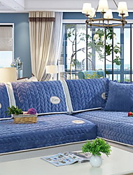 cheap -Sofa Cover Solid Colored Reactive Print Polyester Slipcovers
