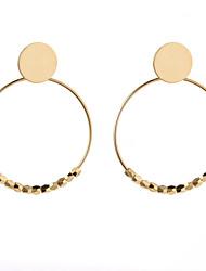cheap -Women's Stud Earrings / Drop Earrings / Hoop Earrings - Fashion, Oversized Silver / Golden For Party / Street / Birthday