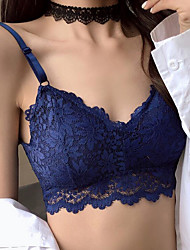 cheap -Women's Full Coverage Bras Lace Bras - Solid Colored