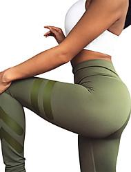 Недорогие -Штаны для йоги Леггинсы Йога Нормальная Эластичная Спортивная одежда Жен. Йога Пилатес Повседневный Разные виды спорта Бег