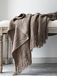 Недорогие -Другое, Активный краситель Однотонный Хлопок / полиэфир одеяла