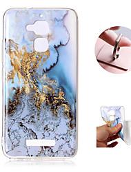 abordables -Coque Pour Asus Zenfone 3 Max ZC520TL Motif Coque Marbre Flexible TPU pour Asus Zenfone 3 Max ZC520TL