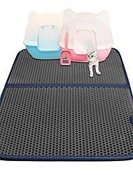 cheap -Cats Bed Pet Mats & Pads Solid Colored washable Black For Pets