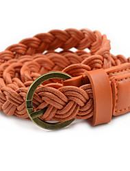abordables -Mujer Cinturón Slim - Trabajo / Chic de Calle Un Color