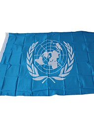 cheap -Holiday Decorations Sports Events / World Cup National Flag World The United Nations 1pc