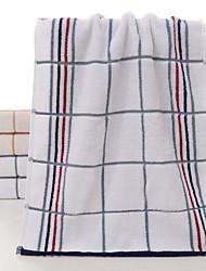 Недорогие -Свежий стиль Полотенца для мытья, Полосы / волосы Высшее качество Полиэстер / Хлопок Жаккардовое плетение 1pcs