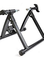 abordables -Pata de cabra Ciclismo / Bicicleta Entrenador Acero inoxidable Blanco Negro