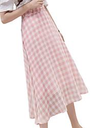 Недорогие -женские midi линии юбки - геометрические