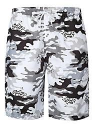 baratos -Homens Activo / Básico Shorts Calças - Estampa Colorida