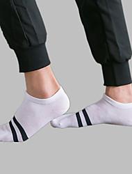 billige Undertøy og sokker til herrer-Herre Lavtsittende Sokker - Stripet Normal