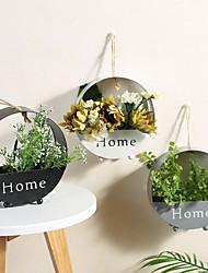Недорогие -Искусственные Цветы 0 Филиал Простой стиль Пастораль Стиль Цветочные ремесла Цветы на стену / Одноместный Ваза