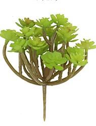 Недорогие -Искусственные Цветы 1 Филиал Простой стиль Modern Вечные цветы Суккулентные растения Букеты на стол