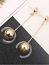 cheap -Long Drop Earrings - Ball Simple, European, Fashion Gold For Party