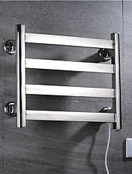 cheap -Electric Warmer Towel Bars Heated Thermostatic Towel Rack Full Welding 304# Stainless Steel Rustproof Mirror Polished Drying Rack D4