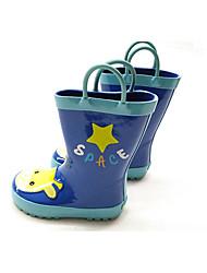 Недорогие -Девочки Обувь ПВХ Весна лето Резиновые сапоги Ботинки для Желтый / Синий / Розовый